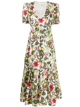 Borgo De Nor - Lucia Tropical Print Dress - Women