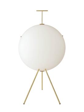 Vertical Luna lamp WHITE