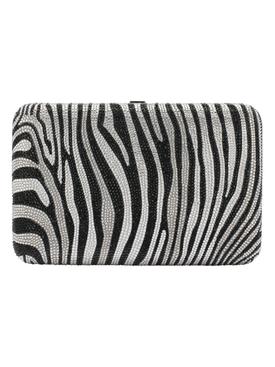Seamles Zebra print box clutch