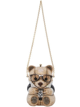 CRYSTAL TEDDY BEAR CLUTCH