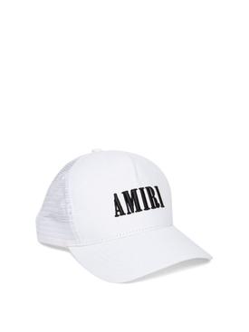 TRUCKER HAT CORE LOGO WHITE