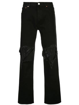 Vetements - Distressed Bootcut Jeans - Men