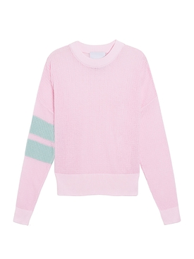 Materialist Quarter Sheer Sweater