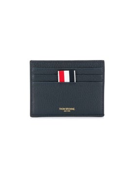 Thom Browne - 4-bar Stripe Cardholder Navy - Small Leather Goods