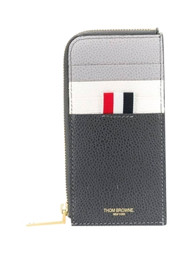 Thom Browne - Grey Zip-around Wallet - Men