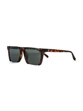 Linda Farrow - Half Rim Shield Sunglasses - Men