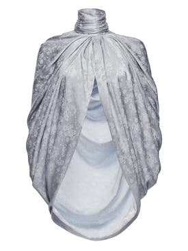 Magda Butrym - Grey Medford Cape - Women