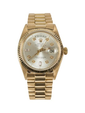 Rolex - Date Presidential Gold 18k Diamond Dial - Women