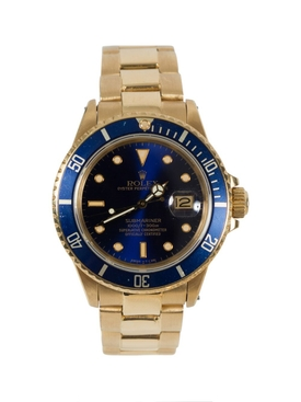 Rolex - 18ct Yellow Gold Submariner Watch - Men