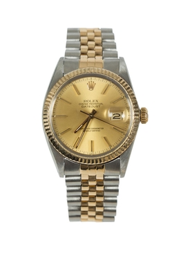 Datejust two tone watch