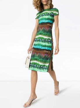 Tie-Dye Tchikiboum Midi Dress
