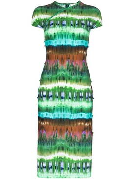 Marcia - Tie-dye Tchikiboum Midi Dress - Women