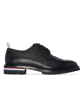 Thom Browne - Tri-stripe Detail Brogues - Men