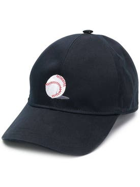 Thom Browne - Classic Embroidered Baseball Cap Navy - Men