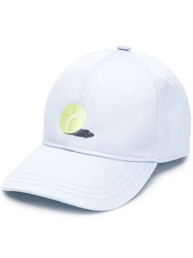 Thom Browne - Classic Embroidered Baseball Cap Light Blue - Men