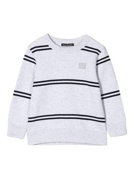 Kids grey striped sweatshirt