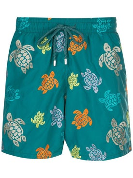 Vilebrequin - Turtle Print Swim Shorts - Men