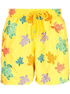 Vilebrequin - Mistral Turtle Embroidered Swimming Trunk - Beachwear