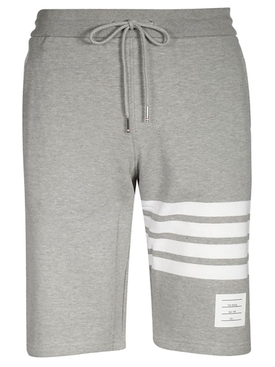 Thom Browne - Light Grey Classic Shorts - Men