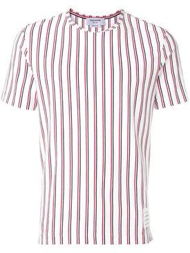Thom Browne - Tricolor Stripe Jersey T-shirt - Men