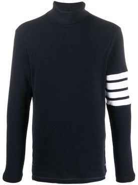 Thom Browne - Navy Turtle Neck Sweater - Men
