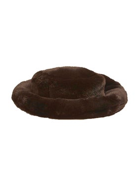 Emma Brewin - Mini Marion Hat Mole Brown - Women