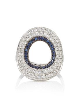 Modernist Circular Ring
