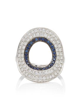 Ralph Masri - Modernist Circular Ring - Women
