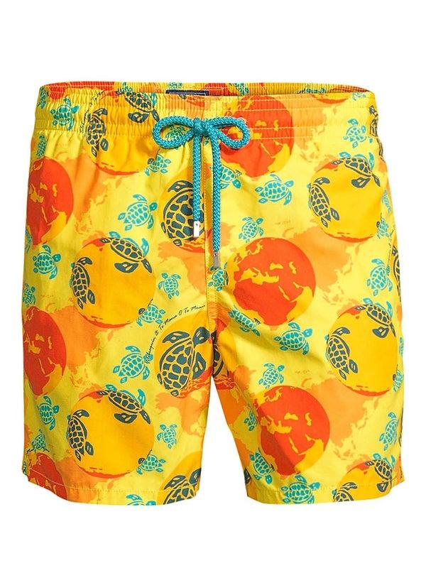 d1b0946ba7 Vilebrequin - Moorea Mappemonde Dots Swim Shorts - Men