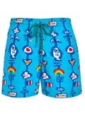 Vilebrequin - Vilebrequin X Jean Charles De Castelbajac Tropical Printed Swim Shorts - Men