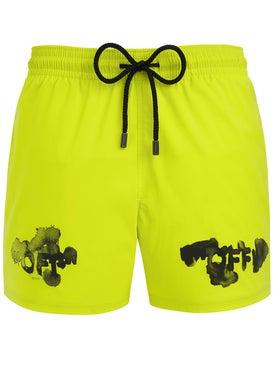 ecf3cd5cde Off-white - Off-white X Vilebrequin Neon Swim Shorts - Beachwear ...
