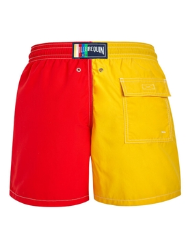 Vilebrequin x Jean Charles de Castelbajac Colorblock swim shorts