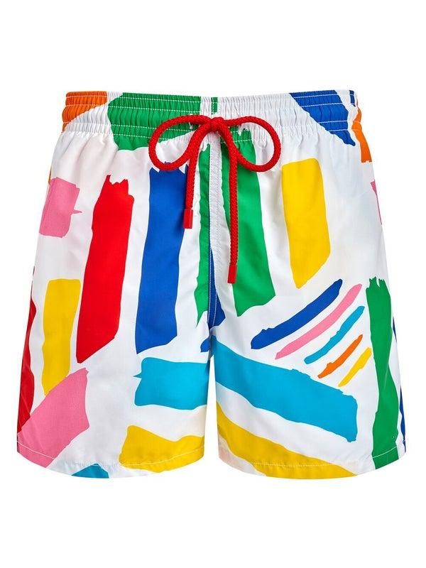 787512f16c Vilebrequin - Vilebrequin X Jean Charles De Castelbajac Colorful Swim  Shorts - Men