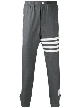 Thom Browne - Four-bar Stripes Trouser Grey - Men