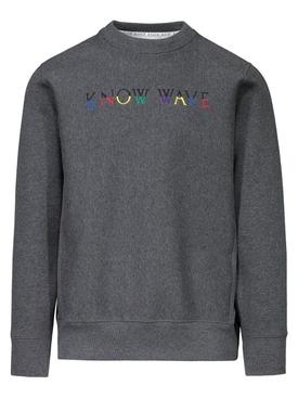 Multicolor logo crewneck sweatshirt