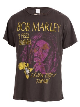 Madeworn - Bob Marley I Feel So High I Even Touch The Sky T-shirt - T-shirts
