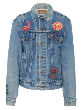 Madeworn - Grateful Dead Embroidered Rose Denim Jacket - Men