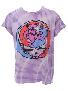 Madeworn - Lavender Tie Dye Grateful Dead T-shirt - Men