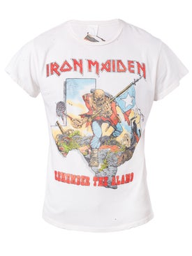 Madeworn - Iron Maiden Remember The Alamo T-shirt - Men
