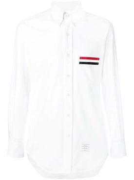 Thom Browne - White Oxford Shirt - Men