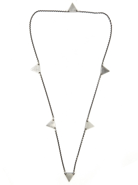 GEO MULTI TRIANGLE NECKLACE