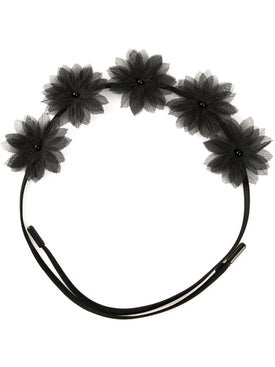 Gigi Burris Millinery - 'shadow Flora Crown' - Headbands
