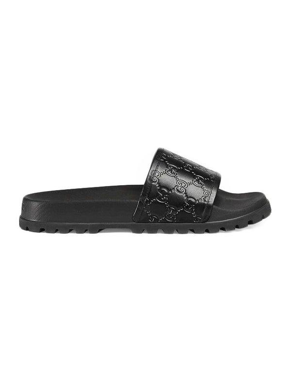 4007796a5 Gucci - Gucci Signature Slide Sandal Black - Men