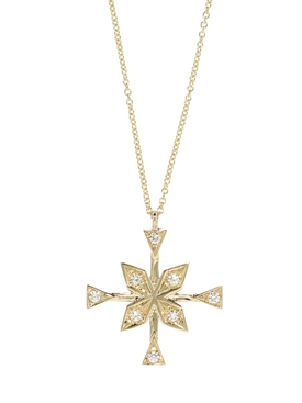 COMPASS DIAMOND NECKLACE