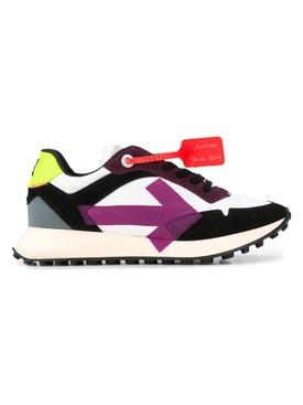 Multicolored arrow sneaker PURPLE