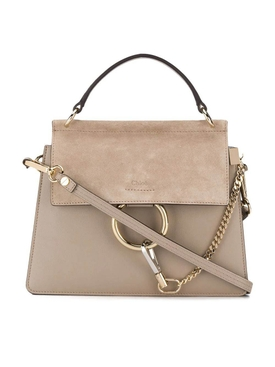 Chloé - Motty Grey Faye Bag - Women