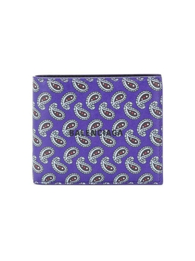 Purple Paisley Wallet