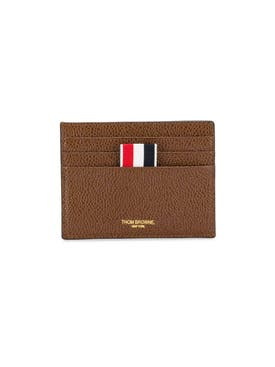 Thom Browne - Browne Double Sided Card Holder - Men