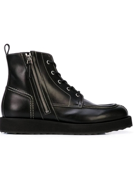 Up State Leather boots BLACK LEATHER