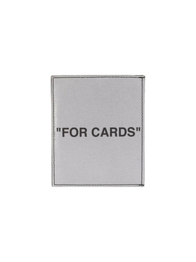 Silver quote cardholder
